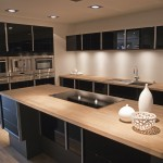 Wood kitchen counter top